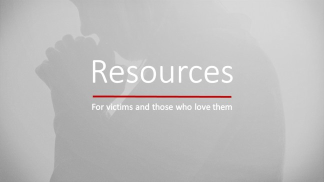 Resources for victims